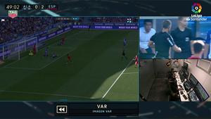 La jugada que lo cambió todo en el Alavés - Espanyol
