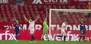 Rakitic no celebró el gol que deja casi eliminado al Barça