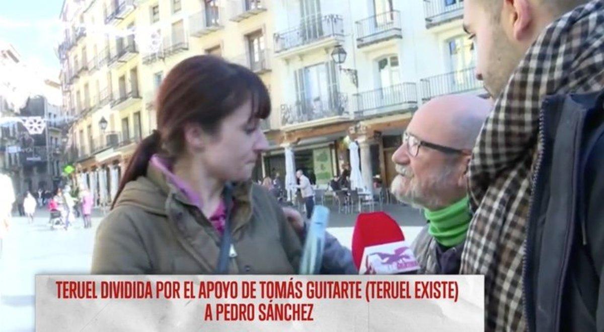 Una simpatizante de VOX amenaza con fusilar a un miembro de Teruel Existe
