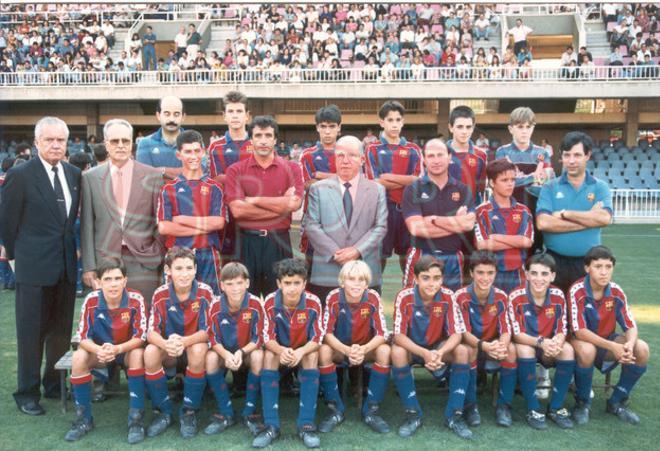 3.Xavi Hernández 1993-94