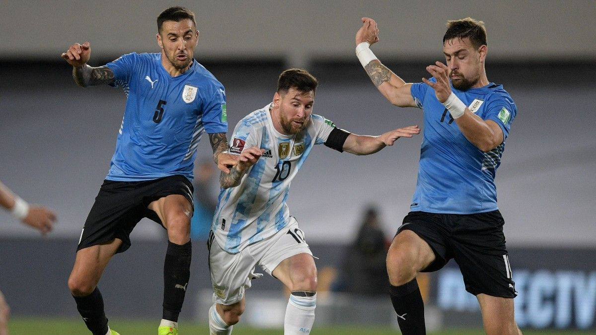 Leo Messi, ante Uruguay