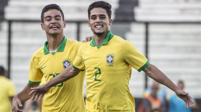 Couto fue campeón sub-17 con Brasil