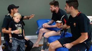 Neymar echa de menos al Barça
