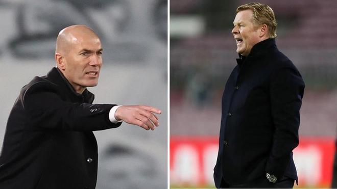 Zidane y Koeman se enfrentarán en el clásico del Di Stéfano