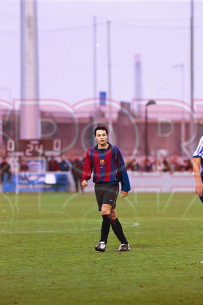 17. Andrés Iniesta 2001-02