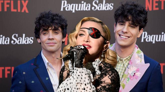 Madonna y Los Javis son amigos y este comentario en Instagram lo demuestra