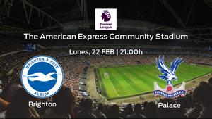 Previa del encuentro: el Brighton and Hove Albion recibe al Crystal Palace