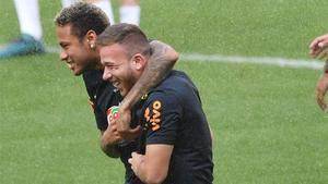 Neymar Jr le escribió un mensaje a Arthur para felicitarle