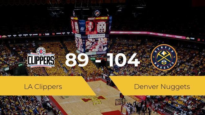 Denver Nuggets sella su pase de ronda tras derrotar a LA Clippers por 89-104