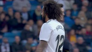 El Bernabéu se harta y no se calla: pitada a Marcelo al ser cambiado