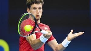 Pablo Carreño, en un partido de esta Copa ATP