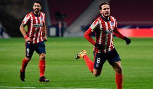 El Atlético de Madrid continúa sumando victorias para mantener su distancia respecto a sus perseguidores