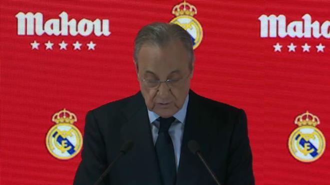Florentino Pérez: El Real Madrid nunca se rinde