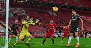 El resumen del empate a cero entre el Liverpool y el Manchester United