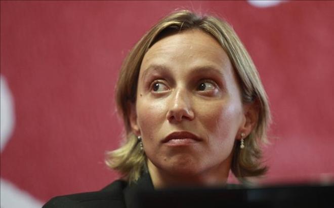Ana Montero, directora técnica del equipo español