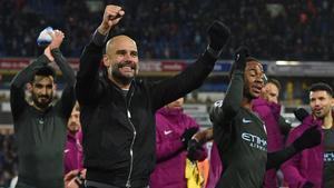 Guardiola está protagonizando una temporada exitosa en el City