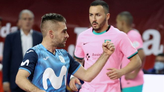 Cecilio marcó un gol clave en la Supercopa