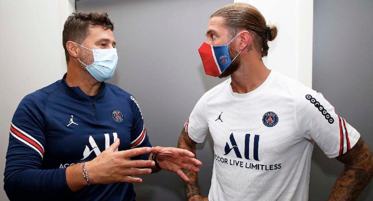 Nervios con Sergio Ramos en el PSG