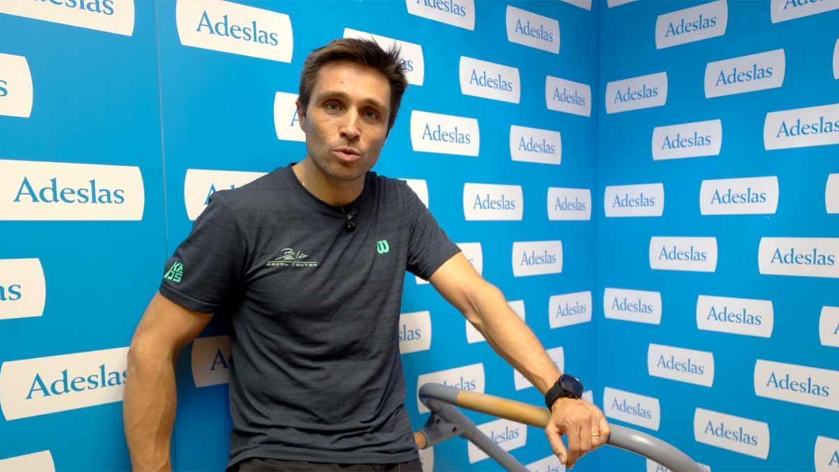 Fernando Belasteguín se prepara para la temporada de World Padel Tour