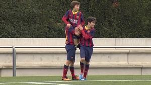 El último gol que marcó Riqui Puig de cabeza con el Barça