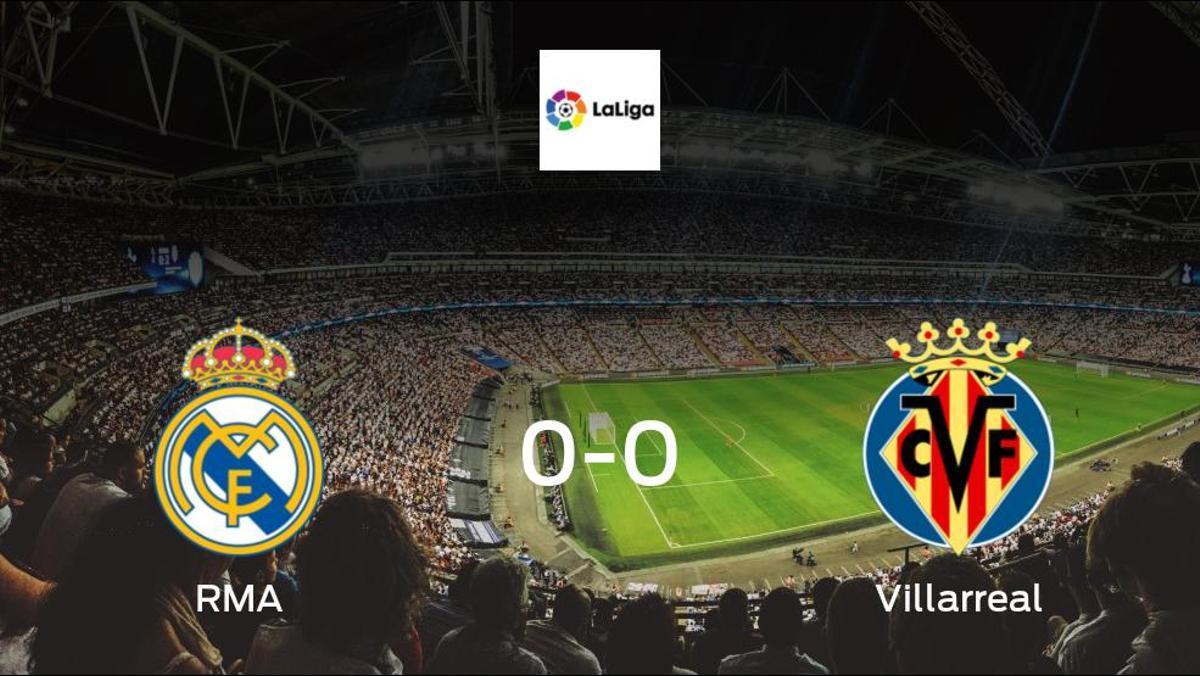 RMA and Villarreal can only manage a 0-0 draw at Santiago Bernabeu