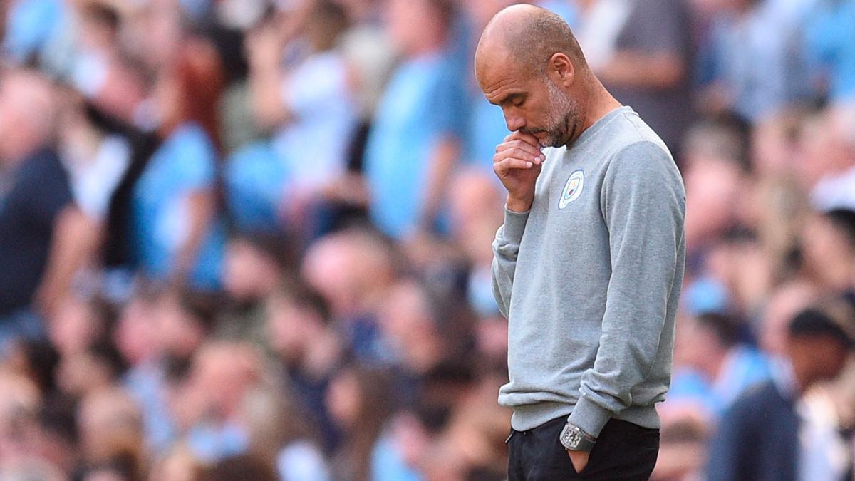 Guardiola no culpa a los delanteros por la falta de gol ante el Southampton