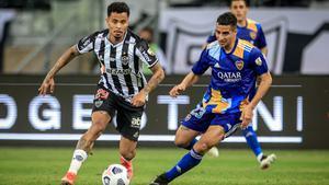 Un lance del Atlético Mineiro - Boca Juniors de la Libertadores.