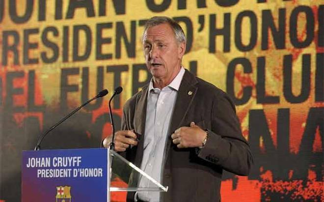 La filosofía de Cruyff, resumida en 10 frases