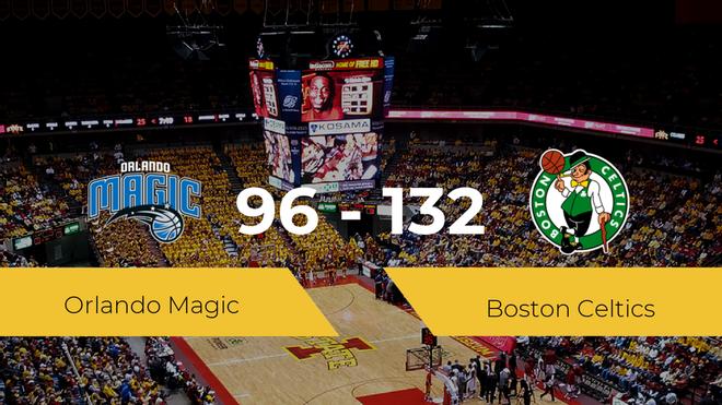 Victoria de Boston Celtics ante Orlando Magic por 96-132