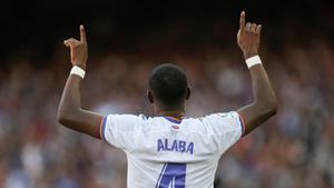 Así fue el golazo de Alaba que sirvió para abrir el marcador