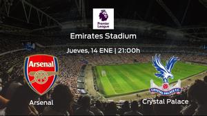 Previa del encuentro de la jornada 18: Arsenal - Crystal Palace