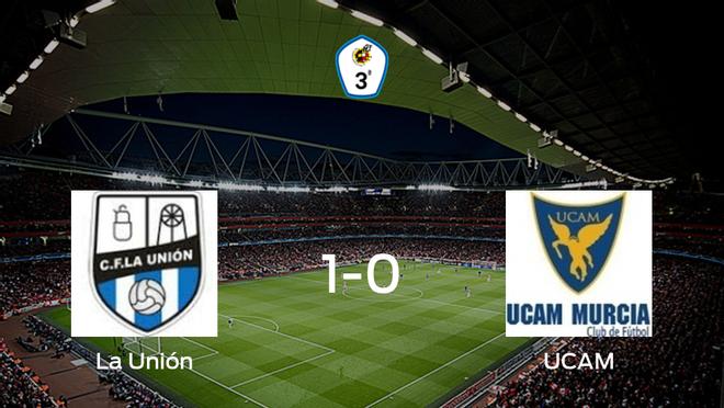 La Unión logra una ajustada victoria en casa ante el UCAM B (1-0)