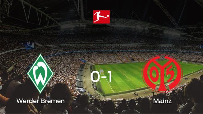 El Mainz 05 se lleva los tres puntos ante el Werder Bremen (0-1)