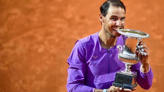 Nadal derrota a Djokovic y se corona campeón en Roma