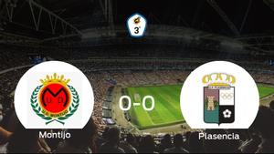 El Montijo y el Plasencia se reparten los puntos en un partido sin goles (0-0)