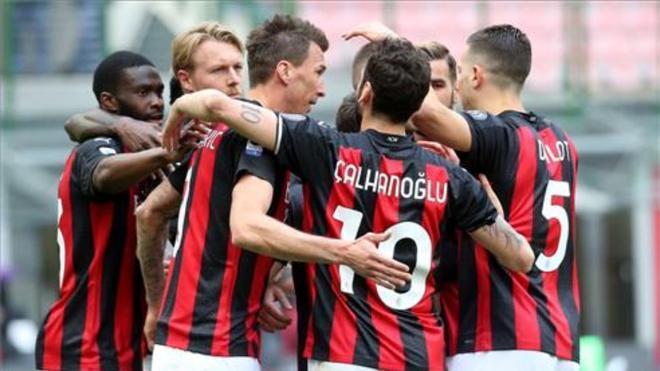 Sufrido triunfo del Milan.