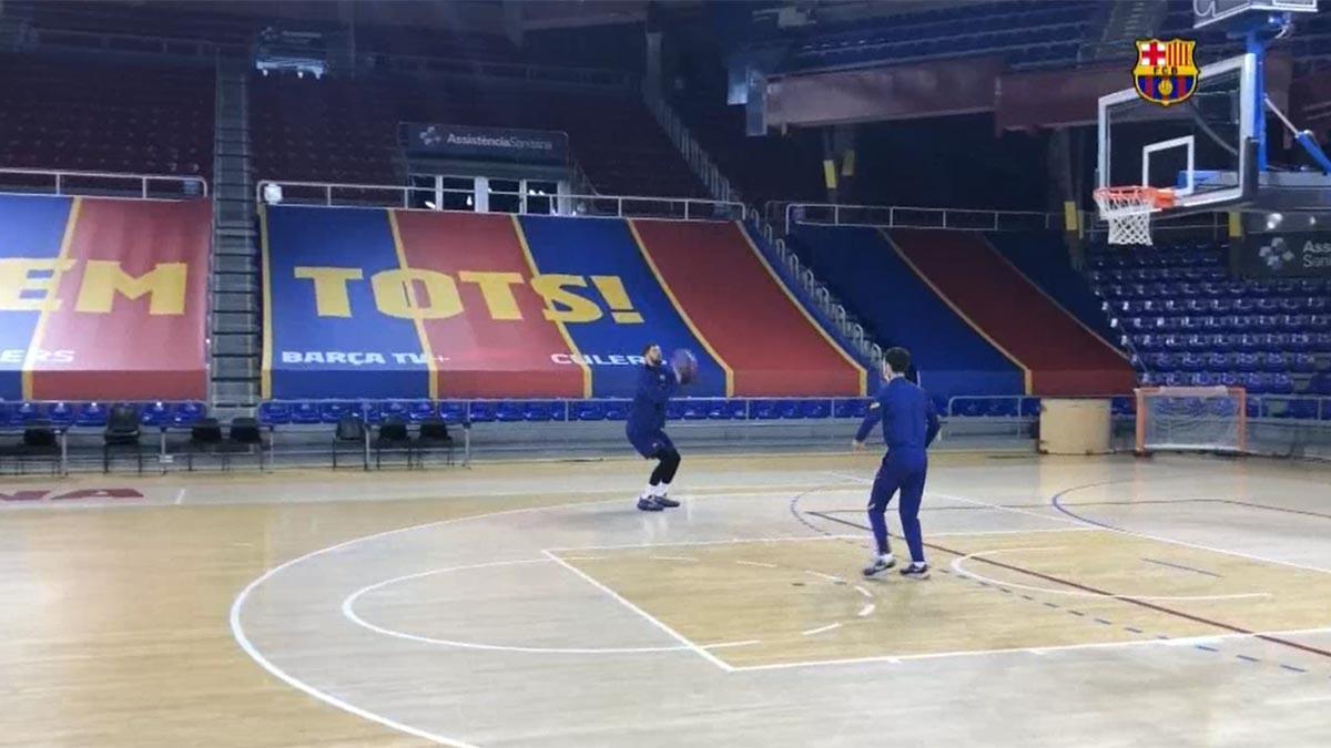 Mirotic vuelve a entrenarse con el equipo