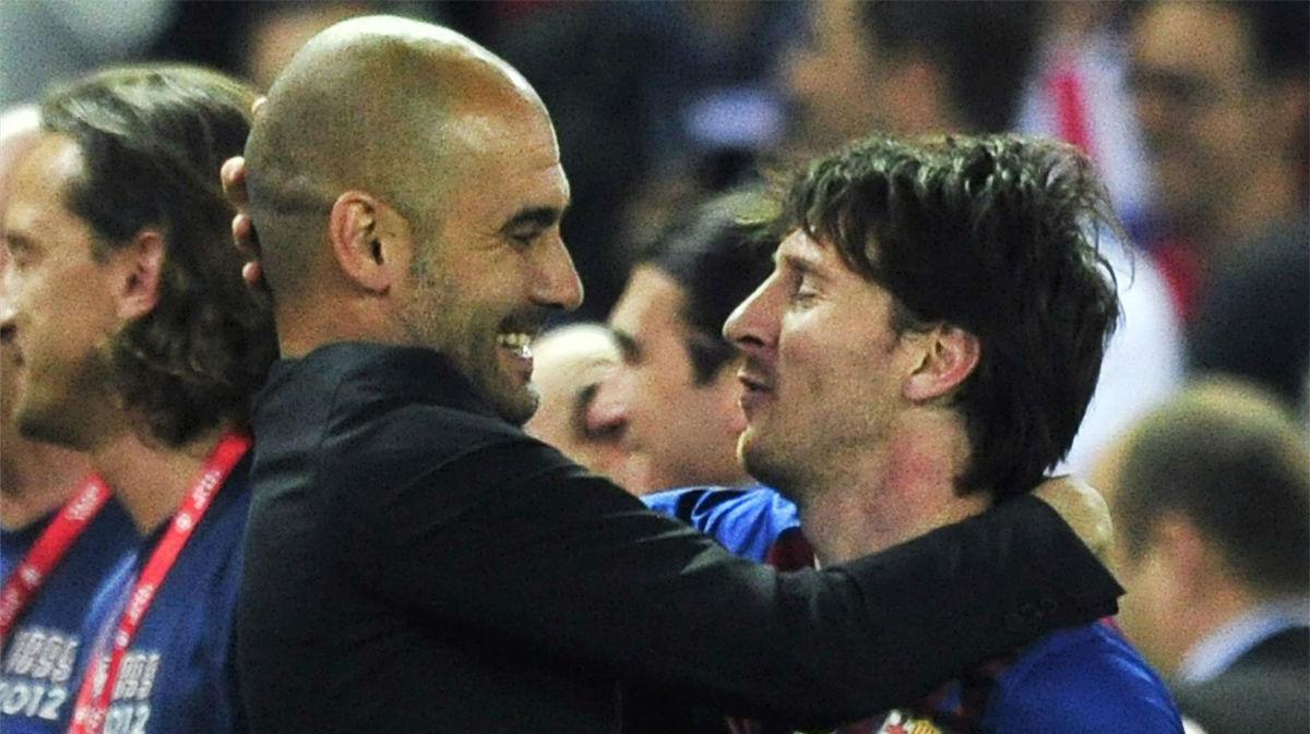 El mayor halago de Guardiola a Messi