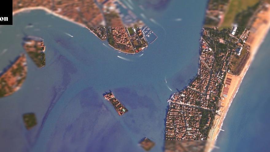 Canon lanza una web para poder 'tomar fotografías' a través de uno de sus satélites