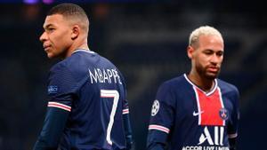 Neymar y Mbappé, dos de las estrellas que podrían verse más afectadas