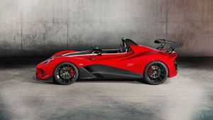 Diez coches deportivos sin parabrisas