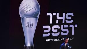 Todos los premiados en la gala The Best