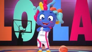Lola, la mascota del Eurobasket femenino