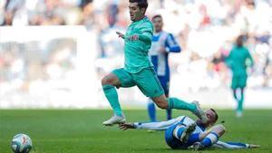Brahim jugó ante el Espanyol