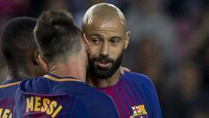 Mascherano: El Barça es un club que reúne todas las condiciones para que Messi se sienta cómodo