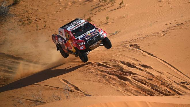 Nasser Al-Attiyah ha ganado la undécima etapa del Dakar