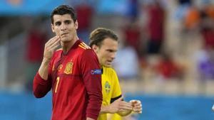 Aun con un claro dominio, España fue incapaz de capitalizar sus oportunidades ante Suecia