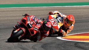 Final de infarto en el GP de Aragón