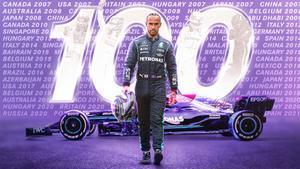 Hamilton, el octavo deportista mejor pagado del mundo