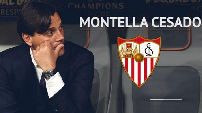 El Sevilla cesa a Montella y contrata a Caparrós